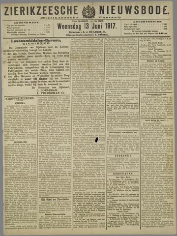 Zierikzeesche Nieuwsbode 1917-06-13