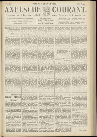 Axelsche Courant 1939-07-25