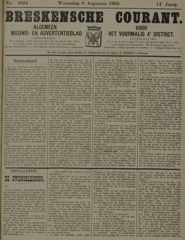 Breskensche Courant 1905-08-09