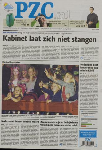 Provinciale Zeeuwse Courant 2011-09-22