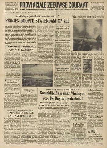 Provinciale Zeeuwse Courant 1957-01-24