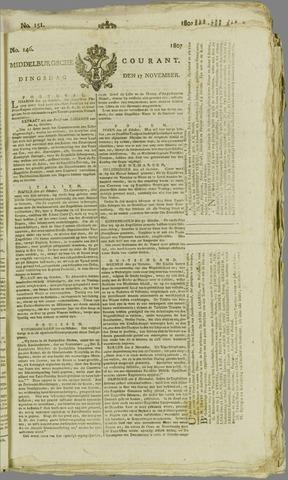 Middelburgsche Courant 1807-11-17