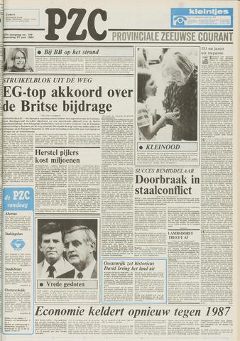Provinciale Zeeuwse Courant 1984-06-27