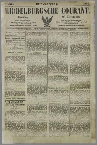 Middelburgsche Courant 1884-12-23