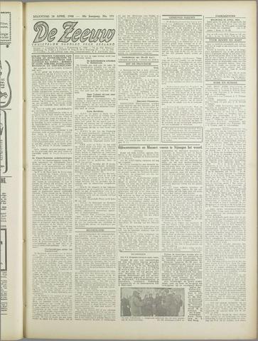 De Zeeuw. Christelijk-historisch nieuwsblad voor Zeeland 1944-04-24
