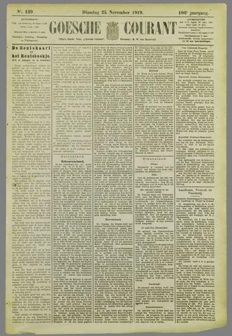 Goessche Courant 1919-11-25