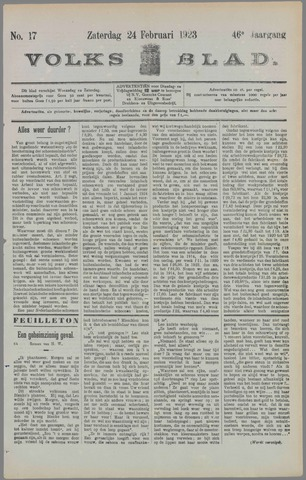 Volksblad 1923-02-24