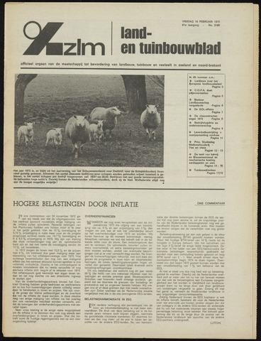 Zeeuwsch landbouwblad ... ZLM land- en tuinbouwblad 1973-02-16