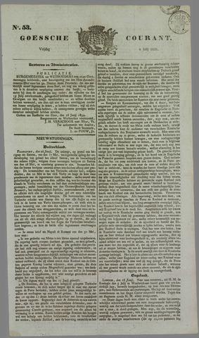 Goessche Courant 1834-07-04