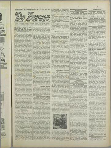 De Zeeuw. Christelijk-historisch nieuwsblad voor Zeeland 1943-08-25
