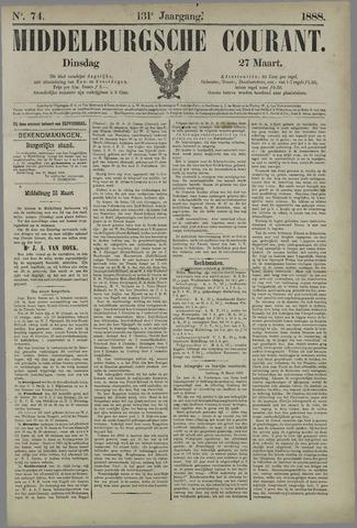Middelburgsche Courant 1888-03-27