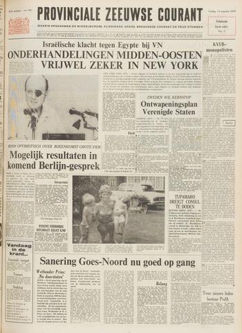 Provinciale Zeeuwse Courant 1970-08-14