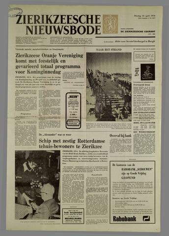 Zierikzeesche Nieuwsbode 1976-04-13