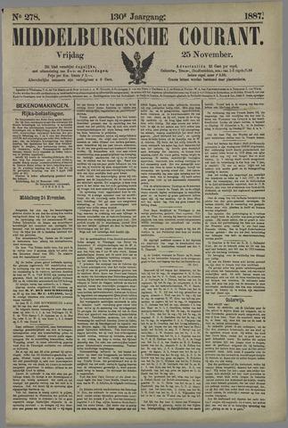 Middelburgsche Courant 1887-11-25