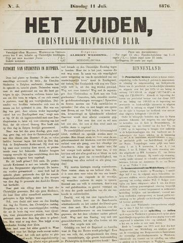Het Zuiden, Christelijk-historisch blad 1876-07-11