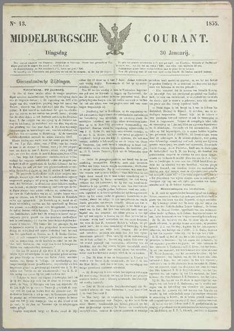 Middelburgsche Courant 1855-01-30