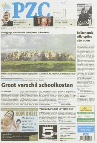 Provinciale Zeeuwse Courant 2009-09-05