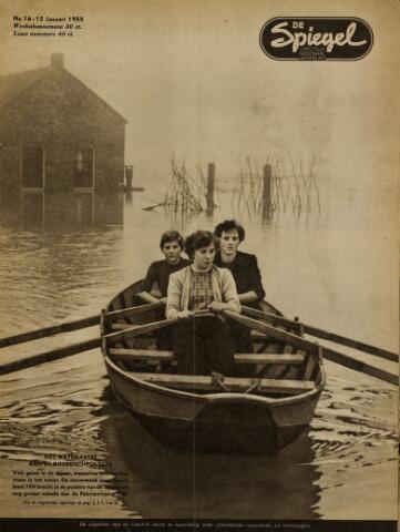 Watersnood documentatie 1953 - tijdschriften 1955-01-15