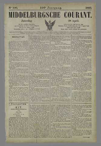 Middelburgsche Courant 1883-04-28
