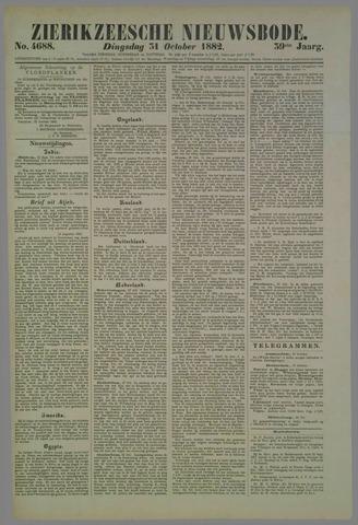 Zierikzeesche Nieuwsbode 1882-10-31