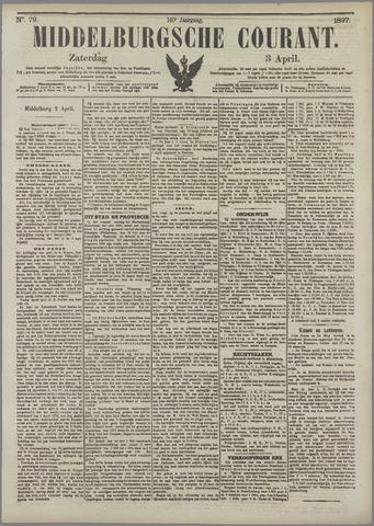 Middelburgsche Courant 1897-04-03