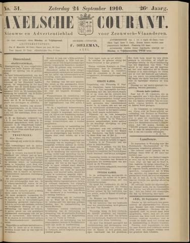 Axelsche Courant 1910-09-24
