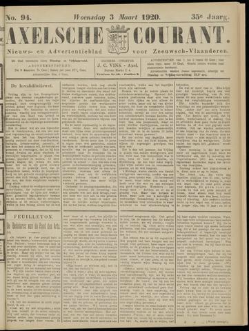 Axelsche Courant 1920-03-03
