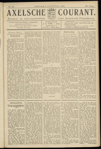 Axelsche Courant 1934-08-03