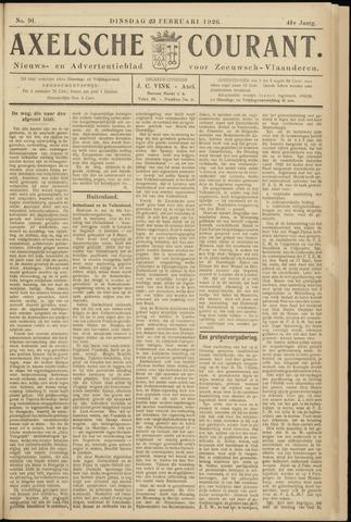 Axelsche Courant 1926-02-23