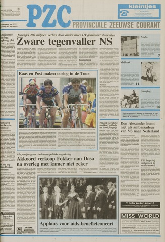 Provinciale Zeeuwse Courant 1992-07-23