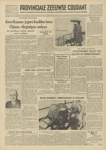 Provinciale Zeeuwse Courant 1954-07-27