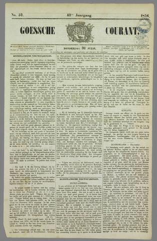 Goessche Courant 1856-07-31