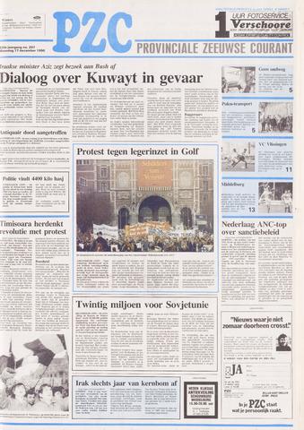 Provinciale Zeeuwse Courant 1990-12-17