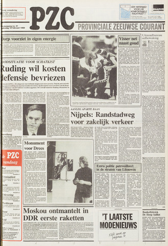 Provinciale Zeeuwse Courant 1988-02-18