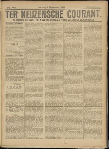 Ter Neuzensche Courant. Algemeen Nieuws- en Advertentieblad voor Zeeuwsch-Vlaanderen / Neuzensche Courant ... (idem) / (Algemeen) nieuws en advertentieblad voor Zeeuwsch-Vlaanderen 1920-11-09