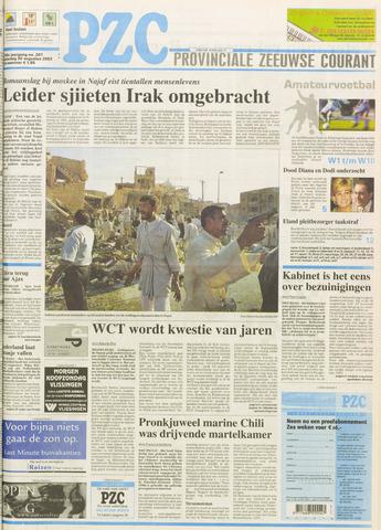 Provinciale Zeeuwse Courant 2003-08-30