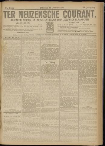 Ter Neuzensche Courant. Algemeen Nieuws- en Advertentieblad voor Zeeuwsch-Vlaanderen / Neuzensche Courant ... (idem) / (Algemeen) nieuws en advertentieblad voor Zeeuwsch-Vlaanderen 1916-10-24