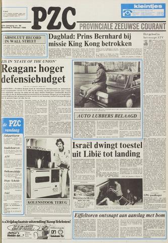 Provinciale Zeeuwse Courant 1986-02-05