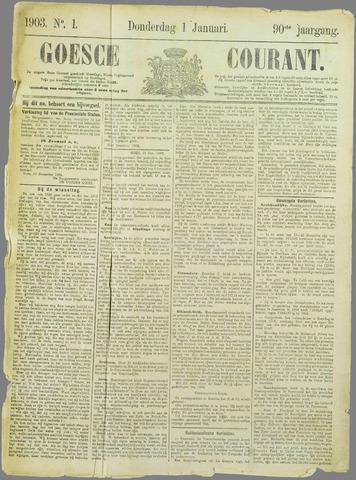 Goessche Courant 1903