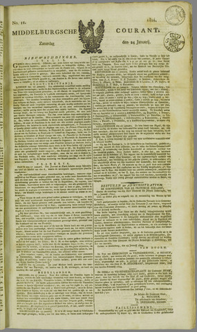 Middelburgsche Courant 1824-01-24