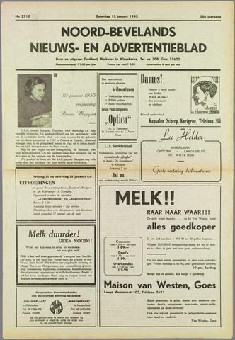 Noord-Bevelands Nieuws- en advertentieblad 1955-01-15