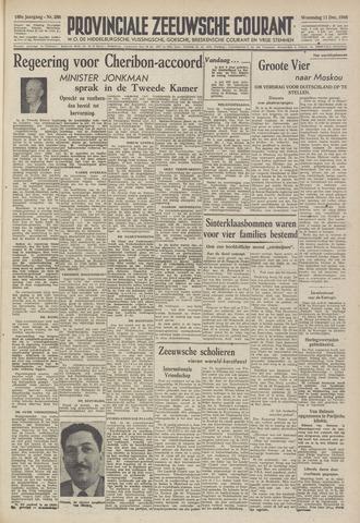 Provinciale Zeeuwse Courant 1946-12-11