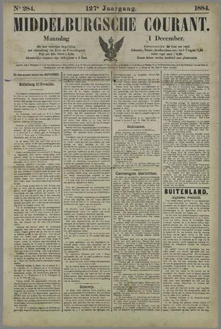 Middelburgsche Courant 1884-12-01