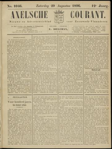 Axelsche Courant 1896-08-29