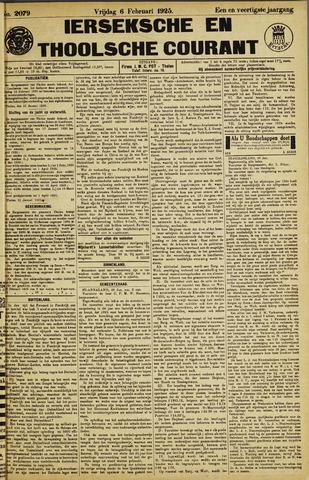 Ierseksche en Thoolsche Courant 1925-02-06