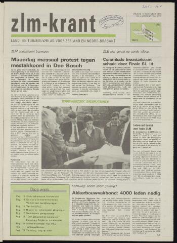 Zeeuwsch landbouwblad ... ZLM land- en tuinbouwblad 1993-11-12