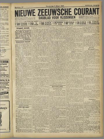 Nieuwe Zeeuwsche Courant 1922-03-09