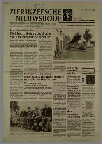Zierikzeesche Nieuwsbode 1981-09-29