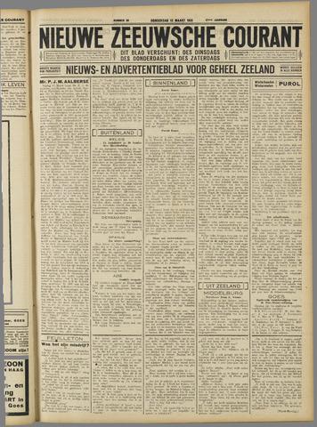 Nieuwe Zeeuwsche Courant 1931-03-12