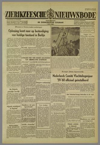 Zierikzeesche Nieuwsbode 1959-06-04